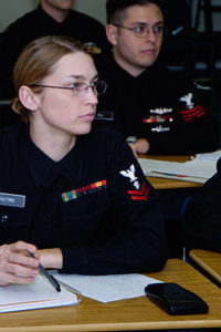 Sailor in Class